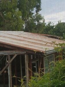 Rusty surface gal corrugated iron roof sheets 3.3 m Victoria Dromana Mornington Peninsula Preview
