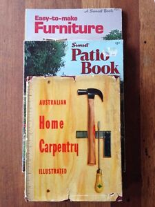 Vintage Carpentry Book Bundle Nunawading Whitehorse Area Preview