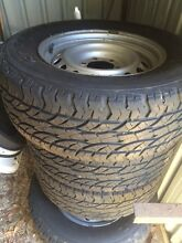 2012 Hilux wheels and tyres 265/65/17 great for trailer Branxton Singleton Area Preview