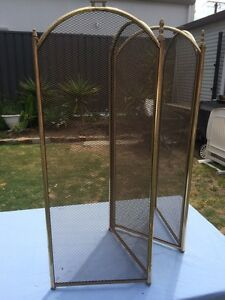 Folding metal fire screen Glenelg North Holdfast Bay Preview
