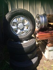 5 Toyota rims / tyres 16 inch Somerville Mornington Peninsula Preview