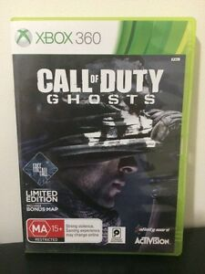 Call of Duty Ghosts Xbox 360 Game Westmead Parramatta Area Preview