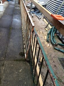 Metal railing about 8.5 meter 2 pieces Forestville Warringah Area Preview
