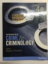 An Introduction to Crime and Criminology Williamstown Barossa Area Preview