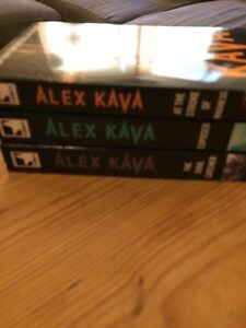 *** BEAND NEW Alex Kava Books - 3 Unley Unley Area Preview