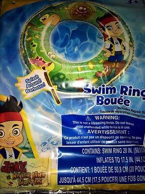 Jake And The Neverland Pirates SWIM RING POOL BEACH NIP KIDS FUN GIFT INFLATES - Jake And The Pirates