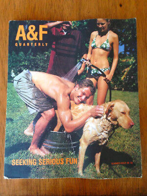 A&F Quarterly Abercrombie & Fitch Summer 1998 Seeking Serious Fun Catalog