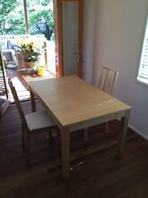 Dining table and 6 chairs Manly West Brisbane South East Preview