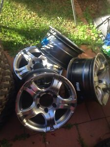 05 and up  Hilux wheels Penrith Penrith Area Preview
