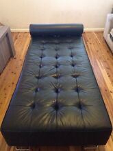 Leather day bed sofa Blacktown Blacktown Area Preview