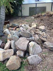 Sandstone and shale rocks Tingalpa Brisbane South East Preview