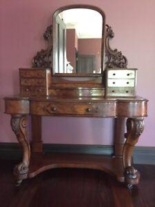 Antique Victorian Dressing Table Ellis Lane Camden Area Preview