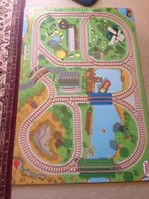 Thomas wooden play track board and wooden engines Rockdale Rockdale Area Preview