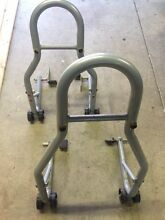 HEADLIFT & REAR MOTORCYCLE STANDS & FRONT CONVERSION KIT - GREY Wanniassa Tuggeranong Preview