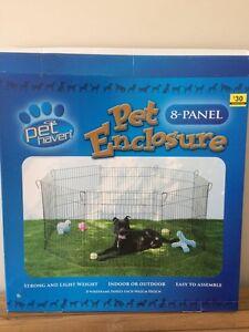 Pet enclosure play pen 8 panel playpen Sheidow Park Marion Area Preview
