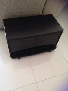 Black tv stand Caringbah Sutherland Area Preview