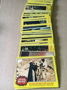 Star Wars 1977 Trading Card Set Success Cockburn Area Preview