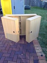 Wall hung cabinet for tools with folding doors Homebush Strathfield Area Preview