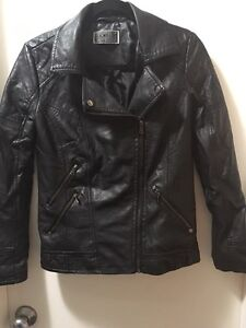 Black leather jacket size small Edgecliff Eastern Suburbs Preview