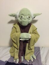 Star Wars Yoda Real size Lutwyche Brisbane North East Preview