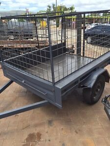 7 x 5 Trailer with Cage , Ramp & Rego Gosnells Gosnells Area Preview