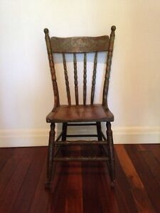 Spindle back chair Northgate Brisbane North East Preview