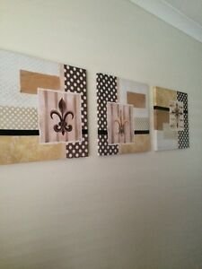 Three piece canvas set Pine Mountain Ipswich City Preview