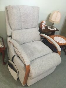 Jason Electric Lift and Recliner Chair; Near New Upholstery Mundaring Mundaring Area Preview
