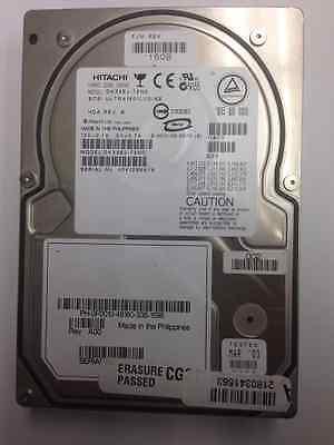 Ultra160 Scsi Hard Disk Drive - Hitachi Hard Disk Drive Model DK32EJ-72NC Scsi Ultra 160/LVD/SE