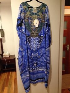 Camilla Frank's a world between the warp round neck kaftan RNK Dural Hornsby Area Preview