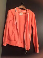 Neon peach zip up hoodie Dingley Village Kingston Area Preview