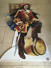 """Captain Morgan """"Captain Your Cola"""" Sign 5.9ft Tall Medowie Port Stephens Area Preview"""