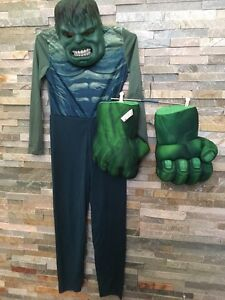 Marvel The Hulk costume, mask & gloves Mount Pleasant Melville Area Preview