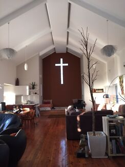Renovated old church to rent for weekends