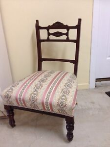Edwardian nursing chair Wynnum Brisbane South East Preview