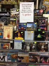 Half price records/CDs/DVDs/comics/books & cassettes Greenslopes Brisbane South West Preview