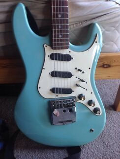 Electric Guitar, late '60s, 'Domino'