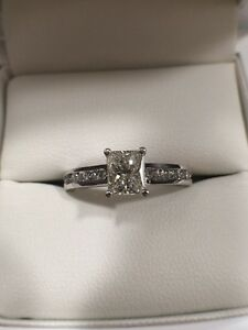 Radiant Cut Diamond 0.71ct I VS1 Engagement Ring Newcastle East Newcastle Area Preview