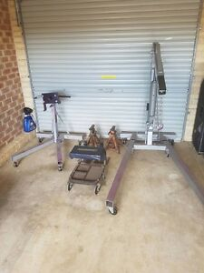 Engine stand and crane plus extras South Penrith Penrith Area Preview