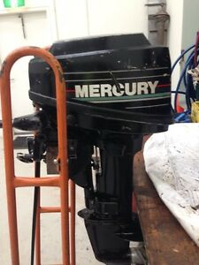 Mercury 6.5hp outboard Carlton North Melbourne City Preview