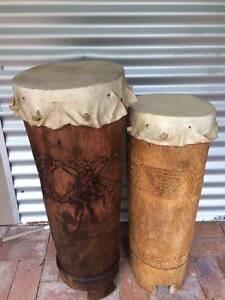 Large African Bongo/Drums Nambour Maroochydore Area Preview