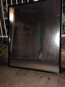 large mirror in black frame Rockingham Rockingham Area Preview