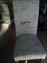Paris script dining chairs x 4 Carrum Downs Frankston Area Preview