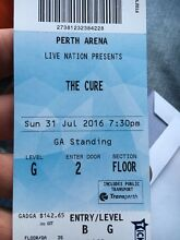 THE CURE TICKET X 1 Cooloongup Rockingham Area Preview