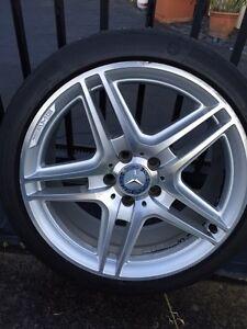 AMG C class W204 Wheels and Tyres Hurstville Hurstville Area Preview