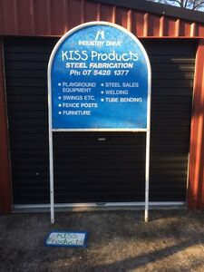 Large shop sign business cafe take away Caboolture Caboolture Area Preview