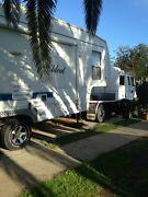 PRICE REDUCED! 5th Wheeler Caravan + Isuzu Truck! North Haven Port Adelaide Area Preview