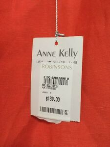 Anne Kelly linen dress New Farm Brisbane North East Preview