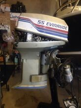 55hp evinrude 1977 Woodbine Campbelltown Area Preview