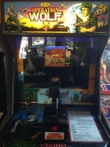 Operation Wolf or Big Buck Hunter Stand Up Arcades